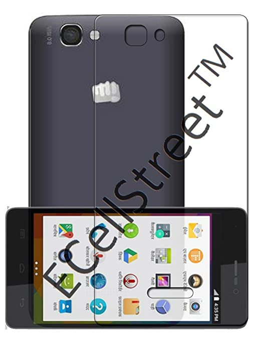 ecellstreet silicon soft back cover for micromax unite amazon in electronics