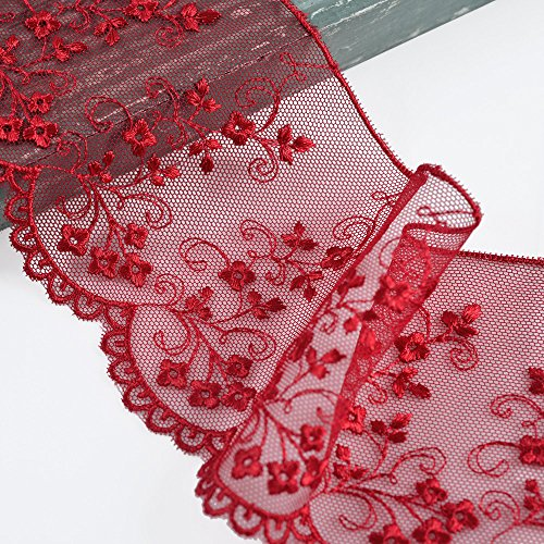 Red Lace Trim - 6