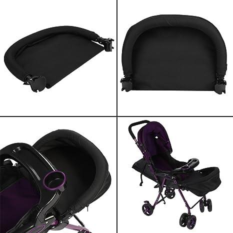 Fdit 32 cm de Longitud Soporte para Bebés Extensión para Pies Reposapiés Ajustable para Dormir Soporte