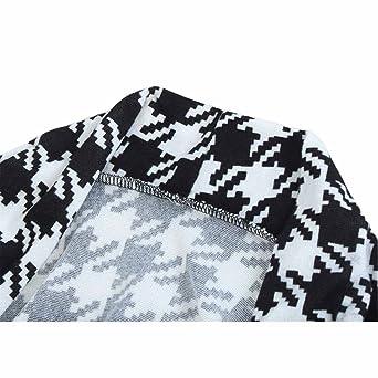 Women Sport Coats & Blazers ackets Black Plaid Blazer Feminino blazer Coat Work Wear Office OL style Blazer with Sashes at Amazon Womens Clothing store: