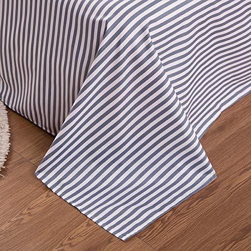 happy-Boutique Parure De Lit Etoile Ciel Literie Simplified Modernity Coton Literie Housse De Couette + Drap + Taies d'oreiller Flat Bed Sheet,King