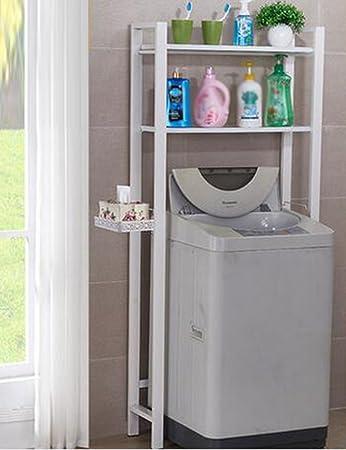 Waschmaschine Regale ZCJB Badezimmer Waschmaschine Stand ...