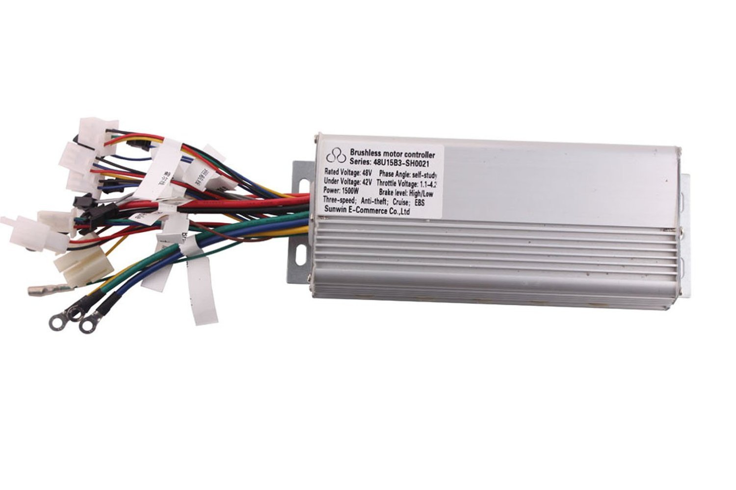 Amazon.com : 1500W 48V Electric Bicycle Brushless Motor Controller ...