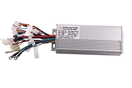amazon com 1500w 48v electric bicycle brushless motor controller