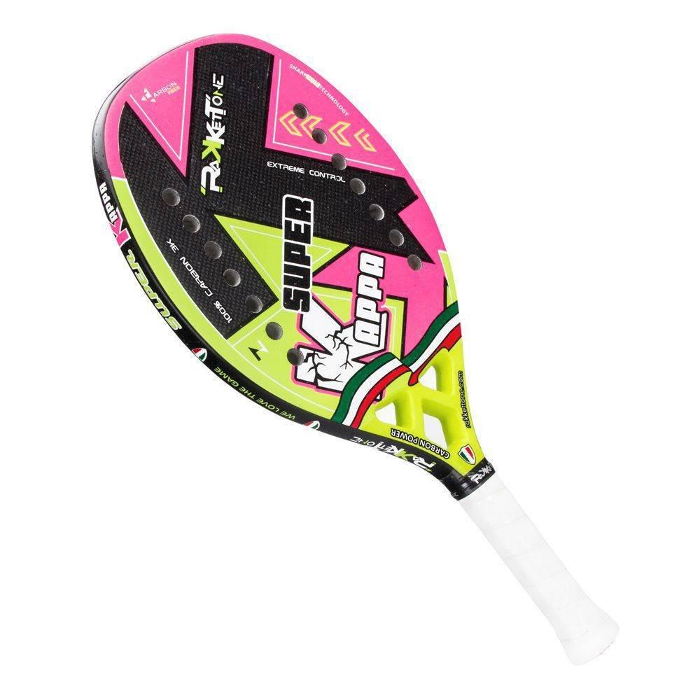 ffefd65e7 Raquete De Beach Tennis Rakketone Super Kappa + Capa  Amazon.com.br   Esportes e Aventura