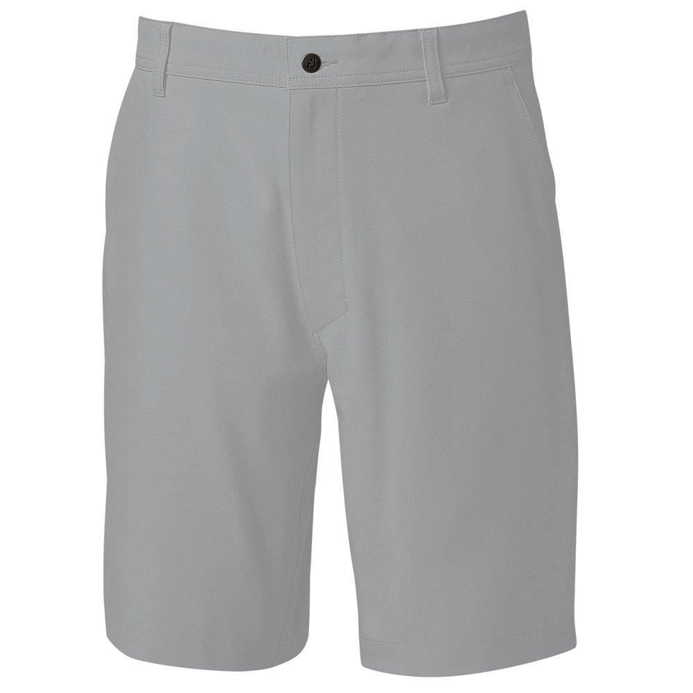 FootJoy Men's Lightweight Performance Golf Shorts (32, Grey)