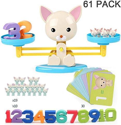 Monkey Dog Toy Balance Cool Math Table Game for Girls/&Boys Kids Fun Educational❤
