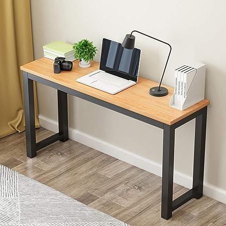 QYN Larga Oficina De Ordenador, Escritorio Madera Mesa Estrecha Mesa De Estudio De Escritura Simple del Hogar Mesa Rectangular De para Escritorio Dormitorio-b 80x40x75cm(31x16x30inch)