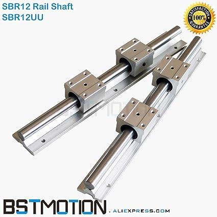 Amazon.com: Lysee SBR12 12mm Linear Rail Customize Length ...