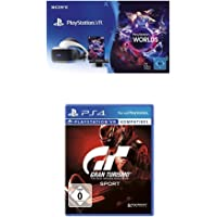 PlayStation VR + Camera + VR Worlds Voucher + Gran Turismo Sport - Standard Edition [neue PSVR Version]