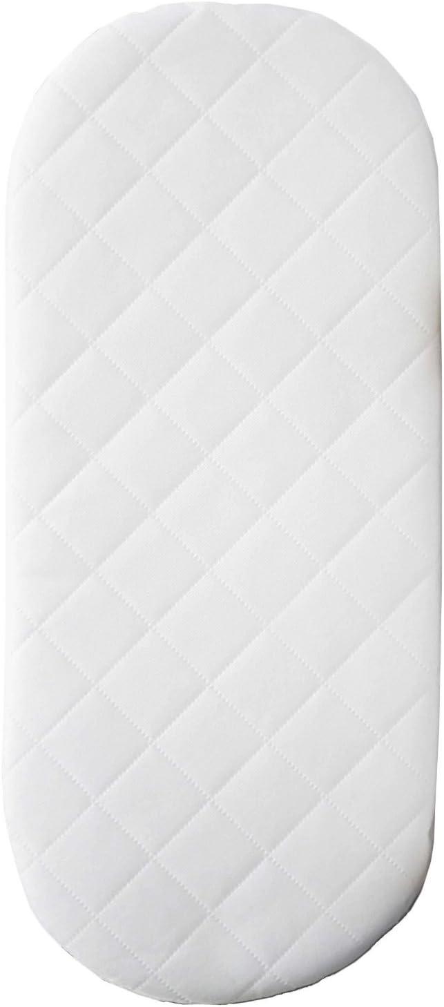 Suzy ® Microfibra Hipoalergénico Cochecito Colchón de 74 X 33 X 4cm de espesor esquina redondeada