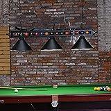 """Wellmet Billiard Light for Pool Table,59"""" Pool"""