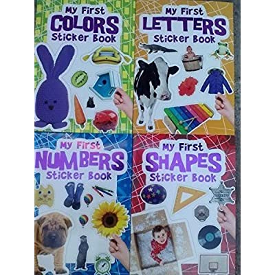 Flowerpot Press My First Sticker Book Collection (Assorted, Titles & Quantities Vary): Toys & Games