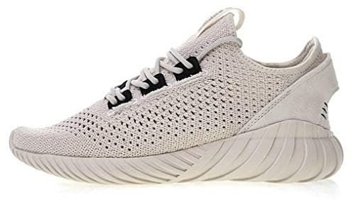 20eaffe9c Tubular Doom Sock Primeknit Clear Brown Cg5510 Zapatillas de Running  Hombre  Amazon.es  Zapatos y complementos