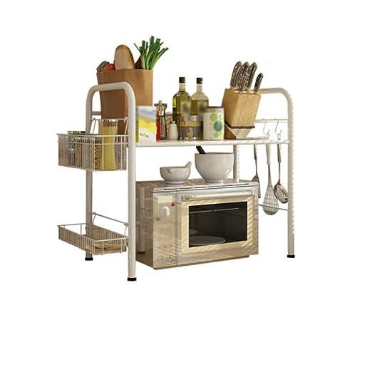 MyYztsj-kitchen rack Estante de Cocina Horno de microondas Estante ...