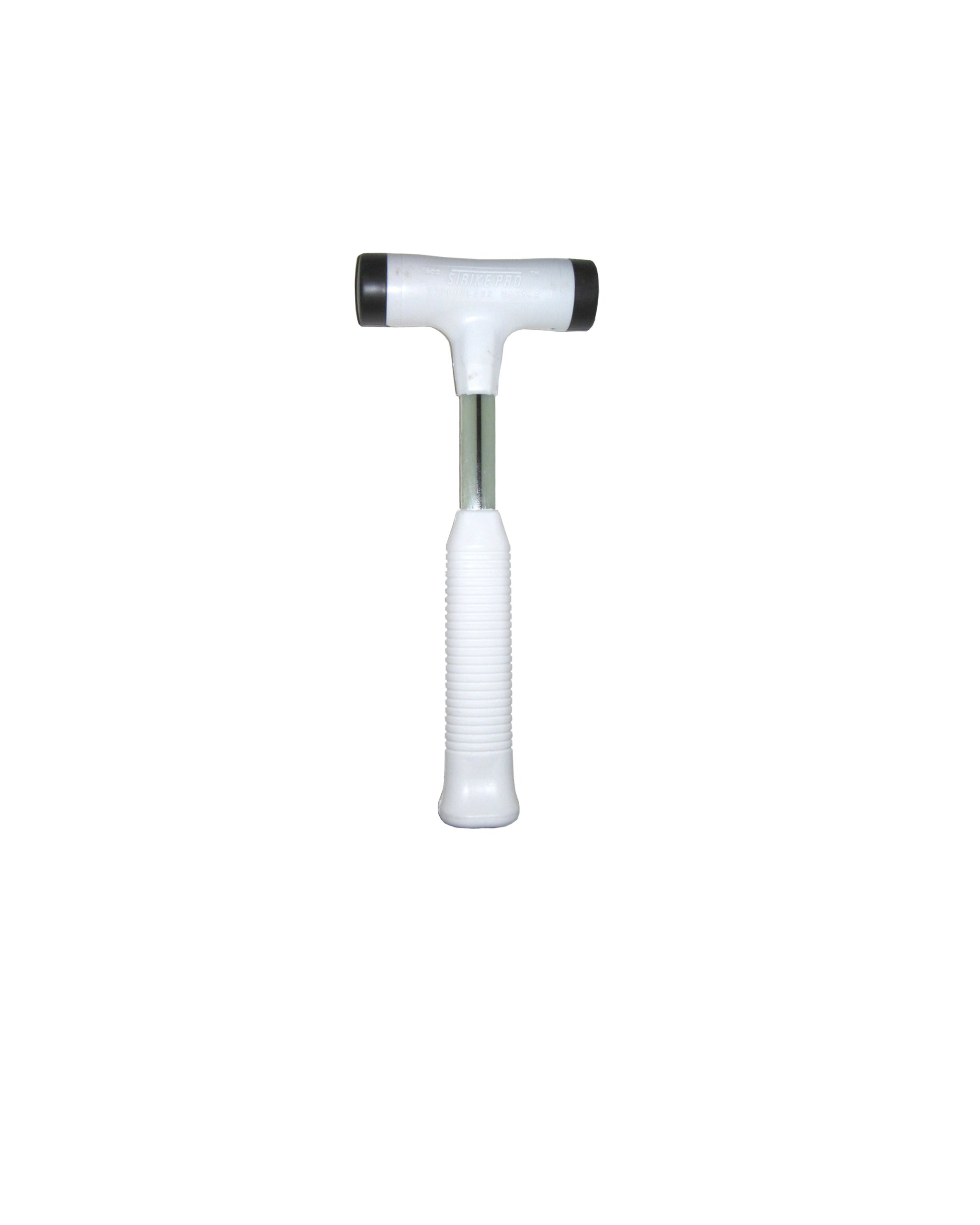 Nupla STPN24 Non-Sparking Dead Blow Strike Pro Power Drive Hammer with C Grip, 5'' Head Length, 12'' Handle Length