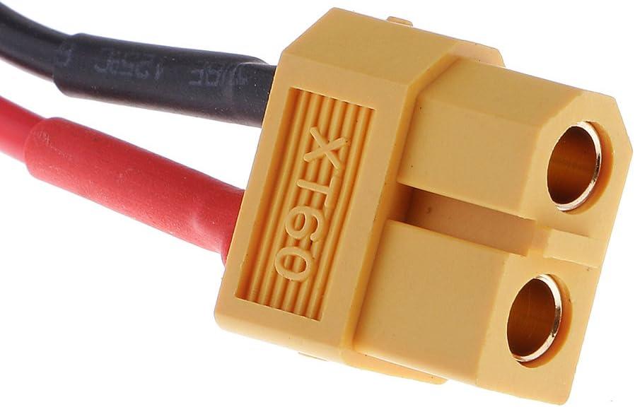 MagiDeal Lipo Interruptor de Bater/ía Conector de Alambre Multicolor
