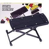 GLEAM Guitar Foot Rest, Stool, Footrest (Black)