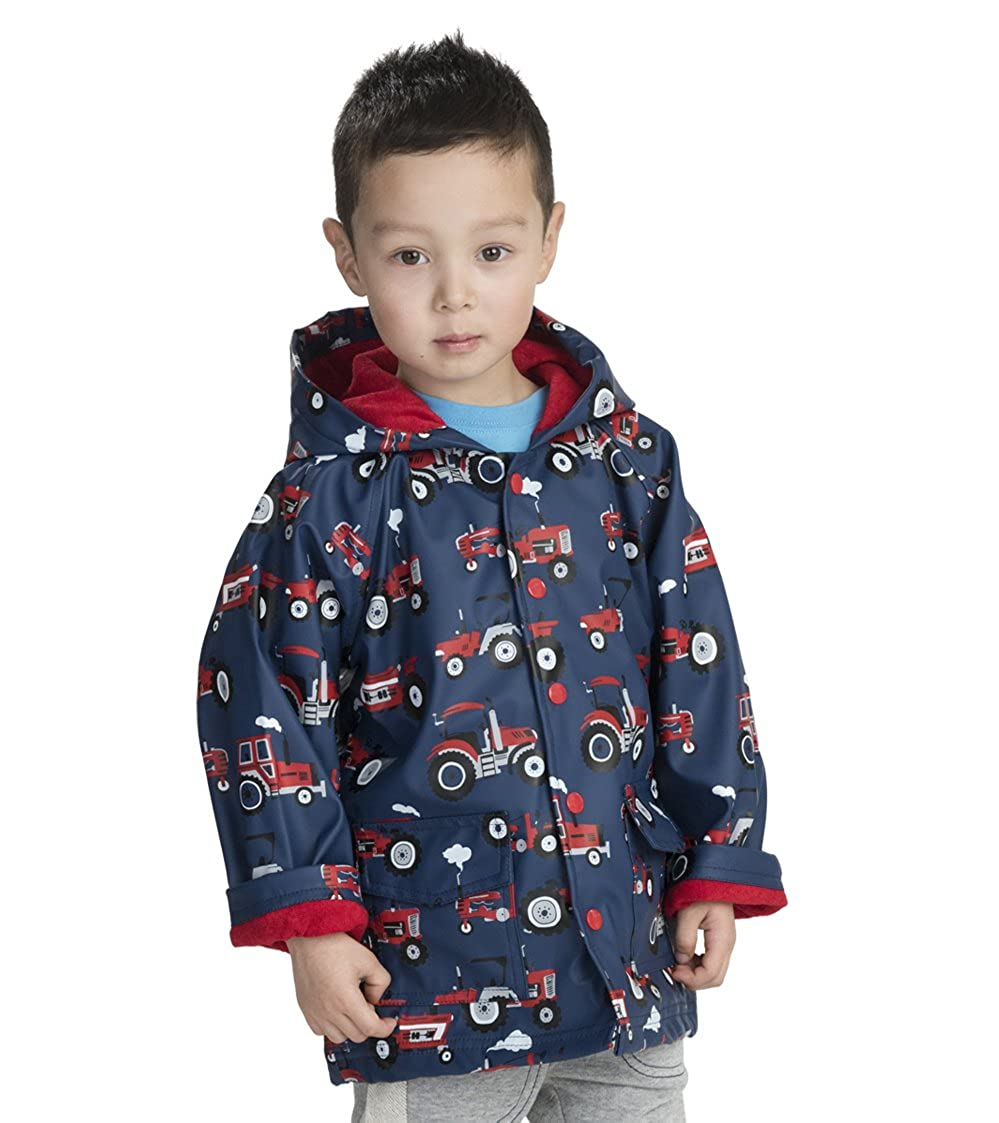 Tela Cerata per Bambini e Ragazzi Lots Of Sharks Hatley Boys Raincoat