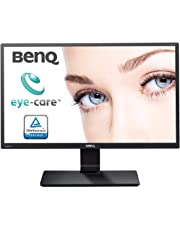 BenQ GW2270HM 21.5 Inch Full HD LED Eye-Care Monitor,  Low Blue Light and Flicker-Free - Black