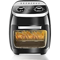 5 in 1 Air Fryer Oven for Fry/Roast/Bake/Grill, 11L Double Layer Oven Fryers with 8 Cooking Presets, 2000W Rapid Air…