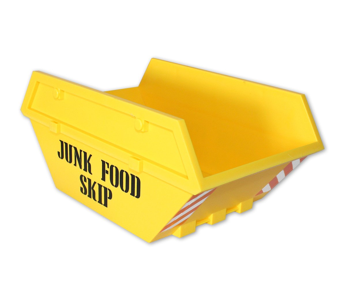 Junk Food Bowl Snack Container