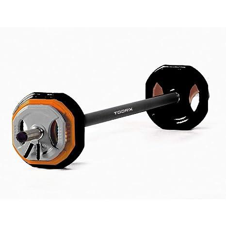 Toorx Body Pump Set 20 kg Pesas + Discos Cuadrados con Mango única ...