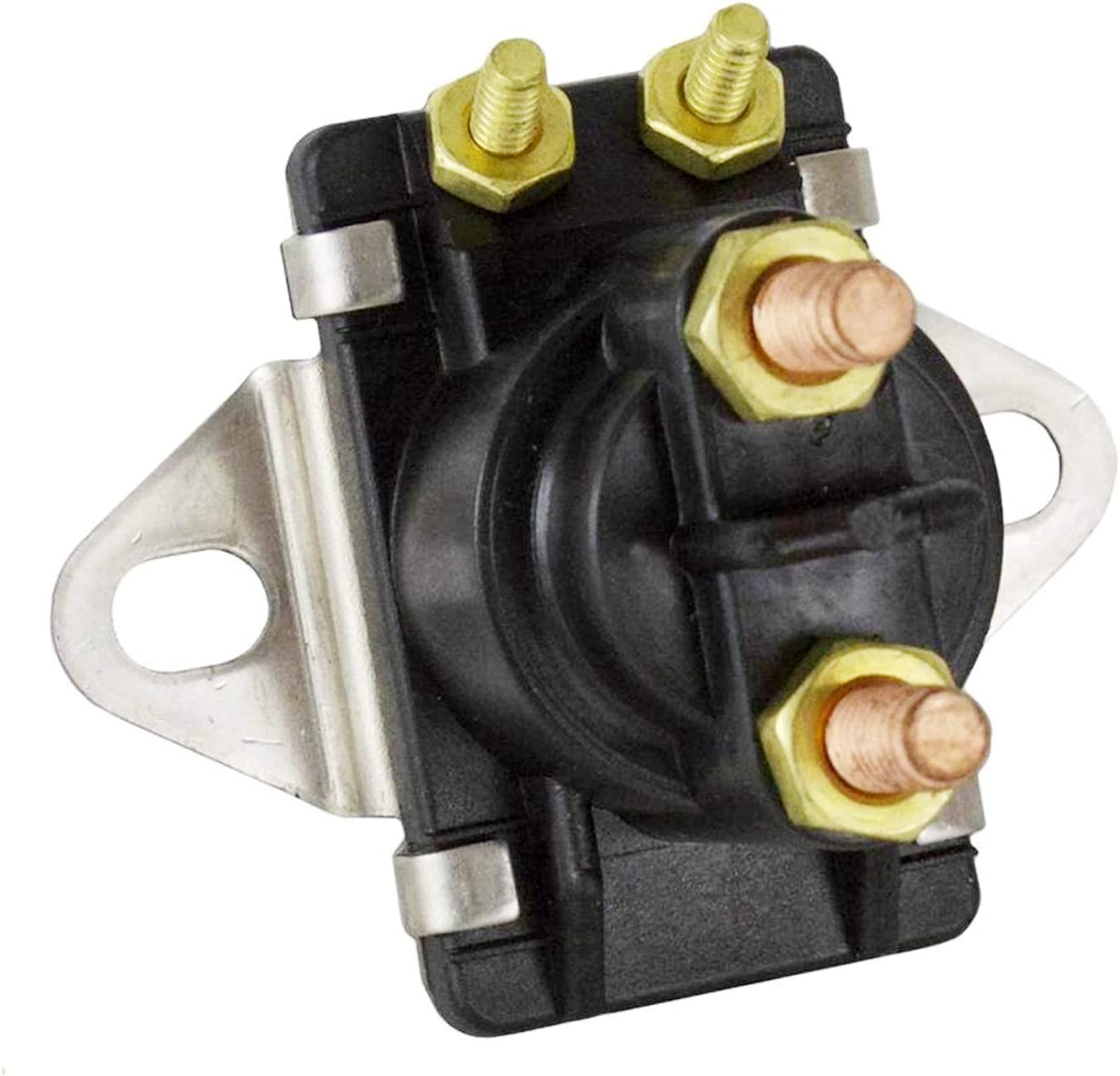 Solarhome 12V Starter//Power Trim Solenoid for Mercury Mariner Outboard Motors 89-96158T 89-846070 89-94318 89-96158 89-96158T
