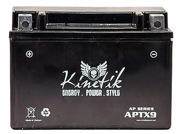 b55afdb940 Amazon.com: Kinetik New APTX9 12V 8Ah Battery Replacement: Health ...