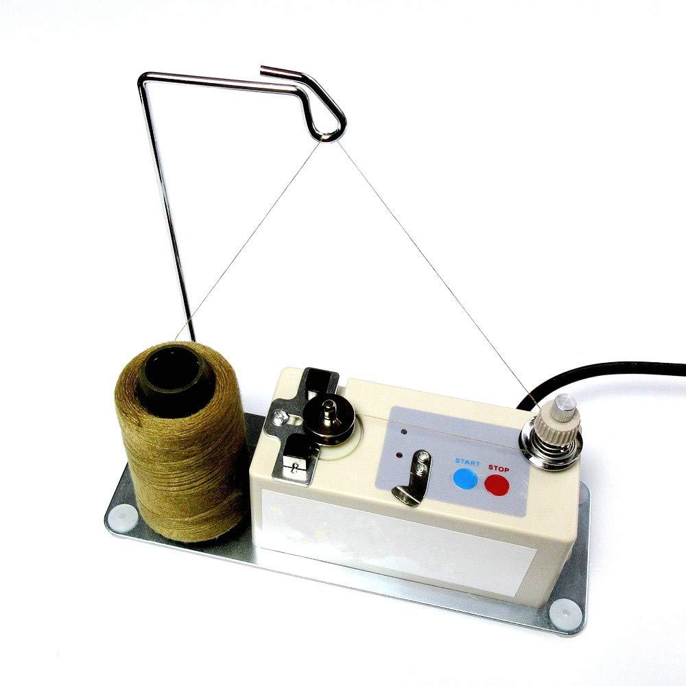 Automatic Shut Off Bobbin Winder +Thread Stand Fits All Type Bobbins Universal (110V w/American Plug) by evernice