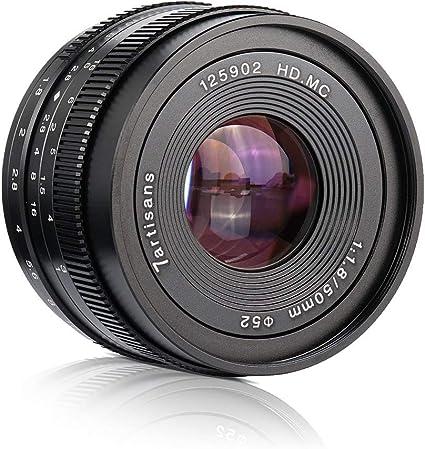 7artisans 50mm F1 8 Prime Portrait Lens For Micro Four Kamera