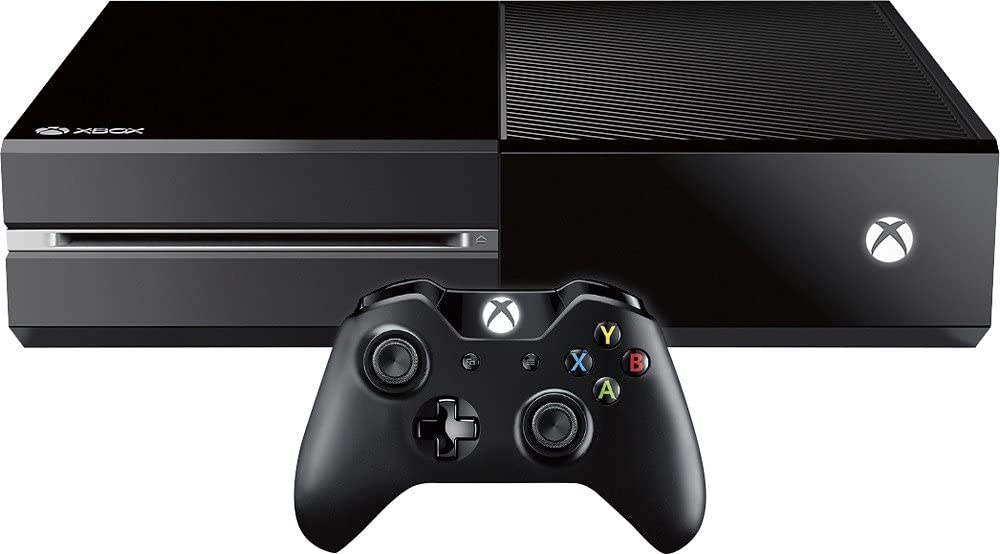 video game Microsoft Xbox One 1 TB Renewed Special Edition Matte Black