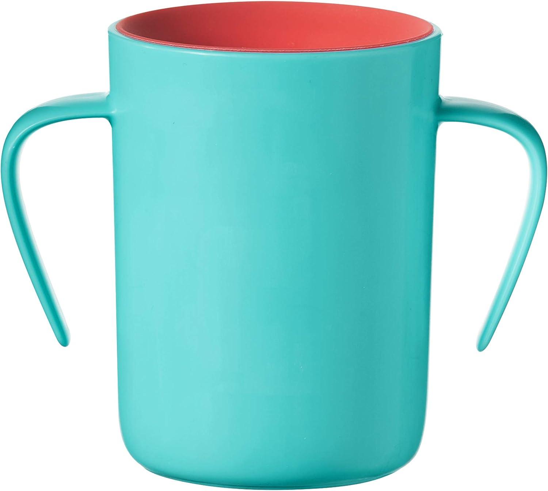Tommee Tippee 360 Trainer Cup 6m Bleu Explorer Design BPA Free orale de développement