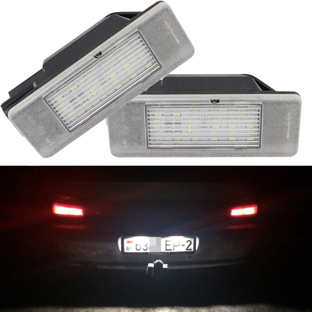 308 207 406 307 407 /& Partner Number Plate Light // Lamp Genuine Peugeot 206