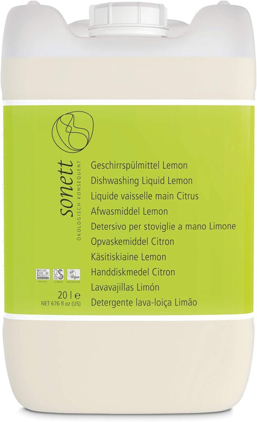 Soneto Detergente para lavavajillas Lemon: para la vajilla ...