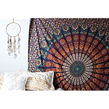 twin elephant tapestry hippie hippie mural. Black Bedroom Furniture Sets. Home Design Ideas