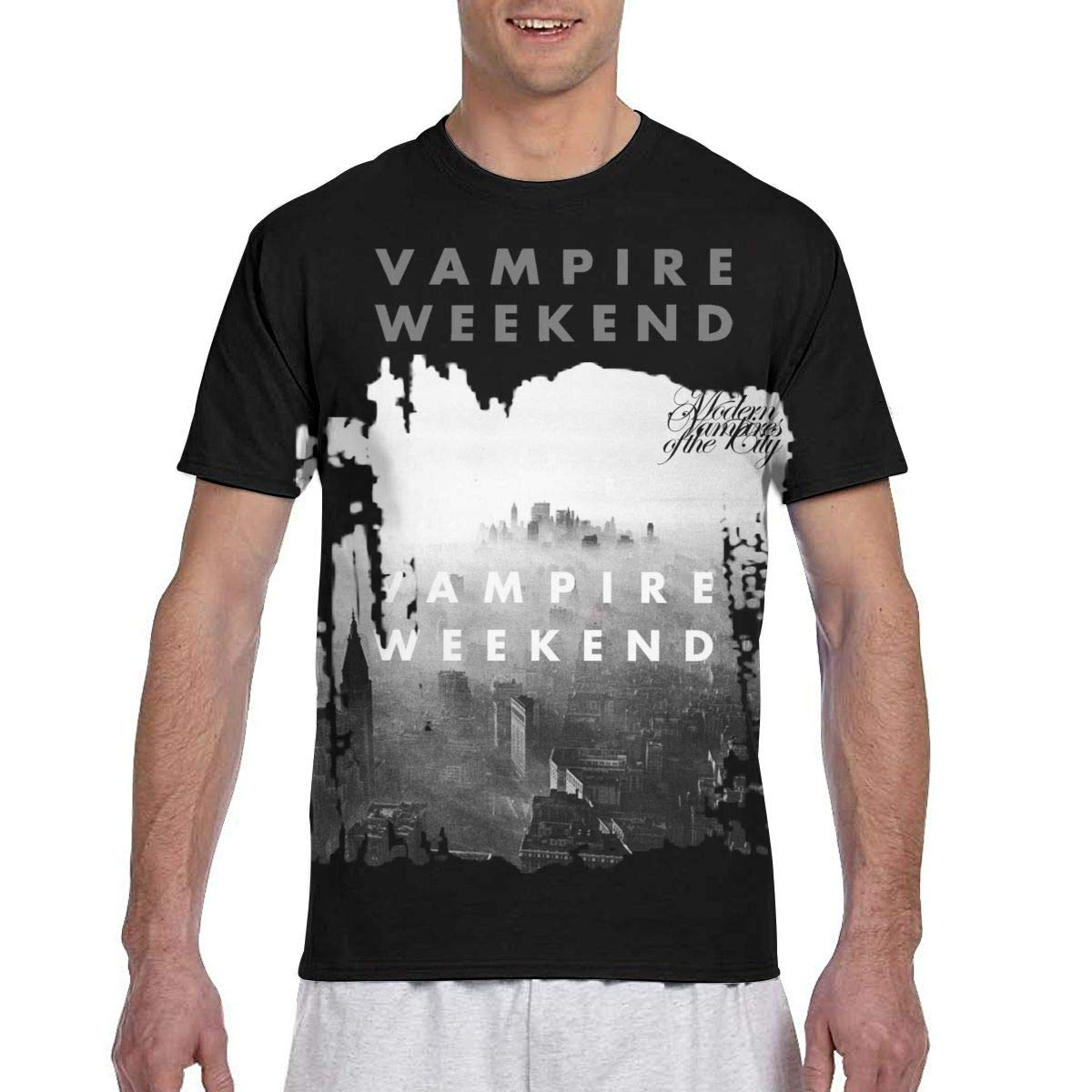 Vampire Weekend Modern Vampires of The City Woman Basic Round Neck Tops Cotton T Shirts Tshirt