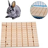 Sanwooden Funny Pet Toy Pet Hamster Rabbit Wooden Claws Scratching Board Squirrel Play Toy Cage Ornament Pet Supplies