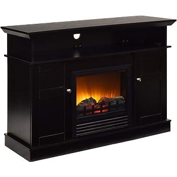Amazon Com Tangkula Fireplace Tv Stand 42 Home Living