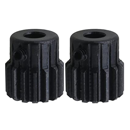 CNBTR - Engranaje de acero con agujero de 6 mm. de diámetro, 15 dientes