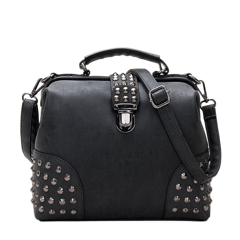 Utopia Boutique Women's Tassels Clutch Rivet Cross-body Hand bag