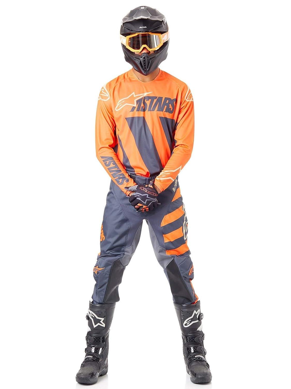 Alpinestars Pantalon Cross Racer Braap Anthracite Orange Fluo Sand 19-ADULTE 30