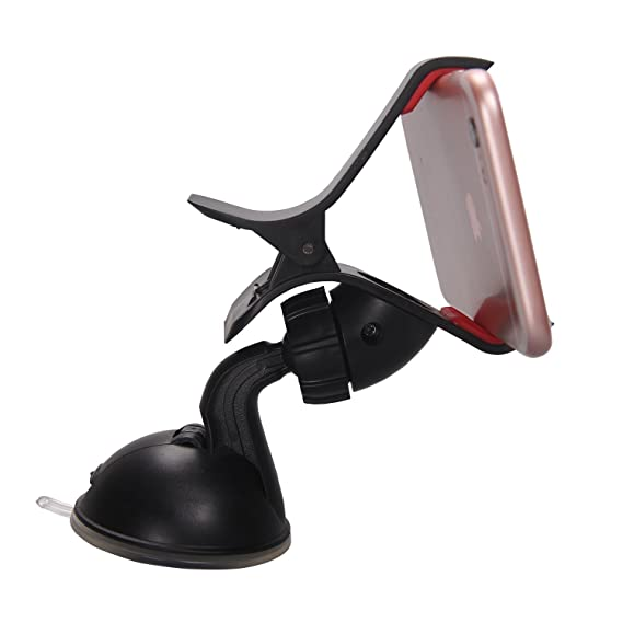 23862f90fdac92 Image Unavailable. Image not available for. Color: Timorn 360 Degree  Rotatable Car Windshield Windscreen Mount Holder for Apple Iphone ...