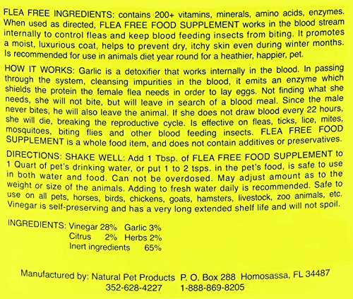 Picture of Flea Free Food Supplement (32oz)