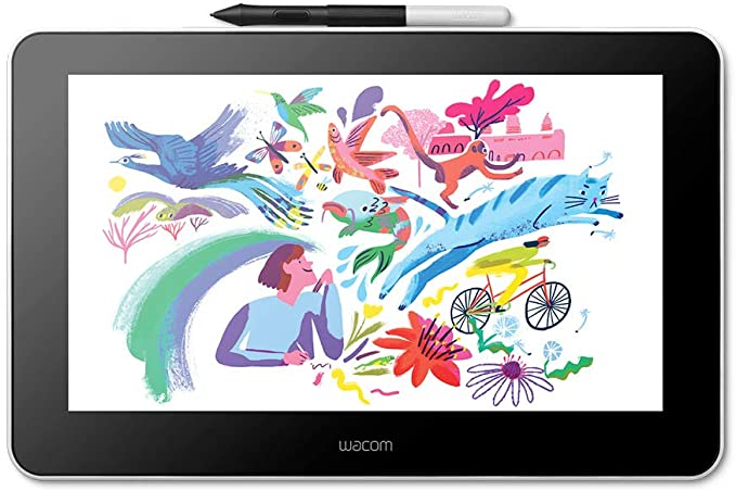 Wacom One Creative Pen Display Mit Gratissoftware 1 920 Computer Zubehör