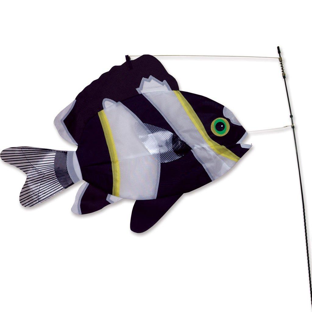 Premier Kites Swimming Fish - Black & White