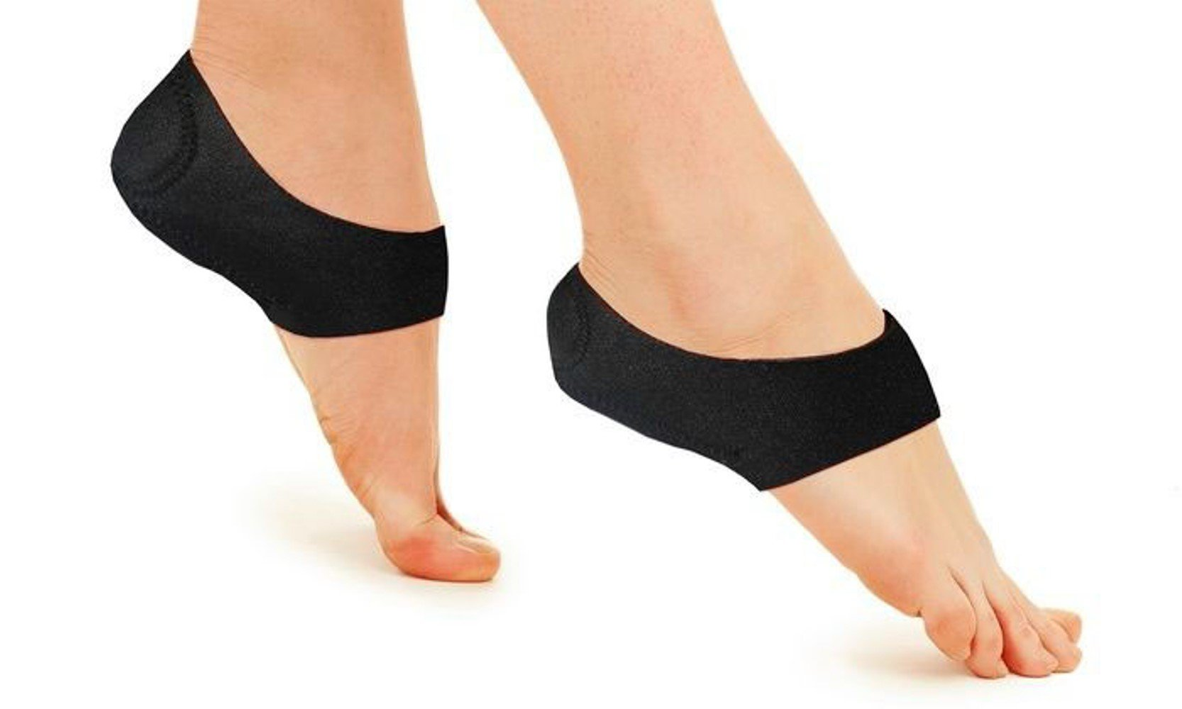 Plantar Fasciitis Arch Support - Alleviate Plantar Fasciitis and Heel Pain, Plantar Fasciitis Therapy Wrap by Alayna (TM) (Image #1)