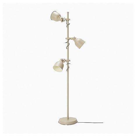 Amazon.com: IKEA 004.102.38 Hektar - Lámpara de pie con 3 ...