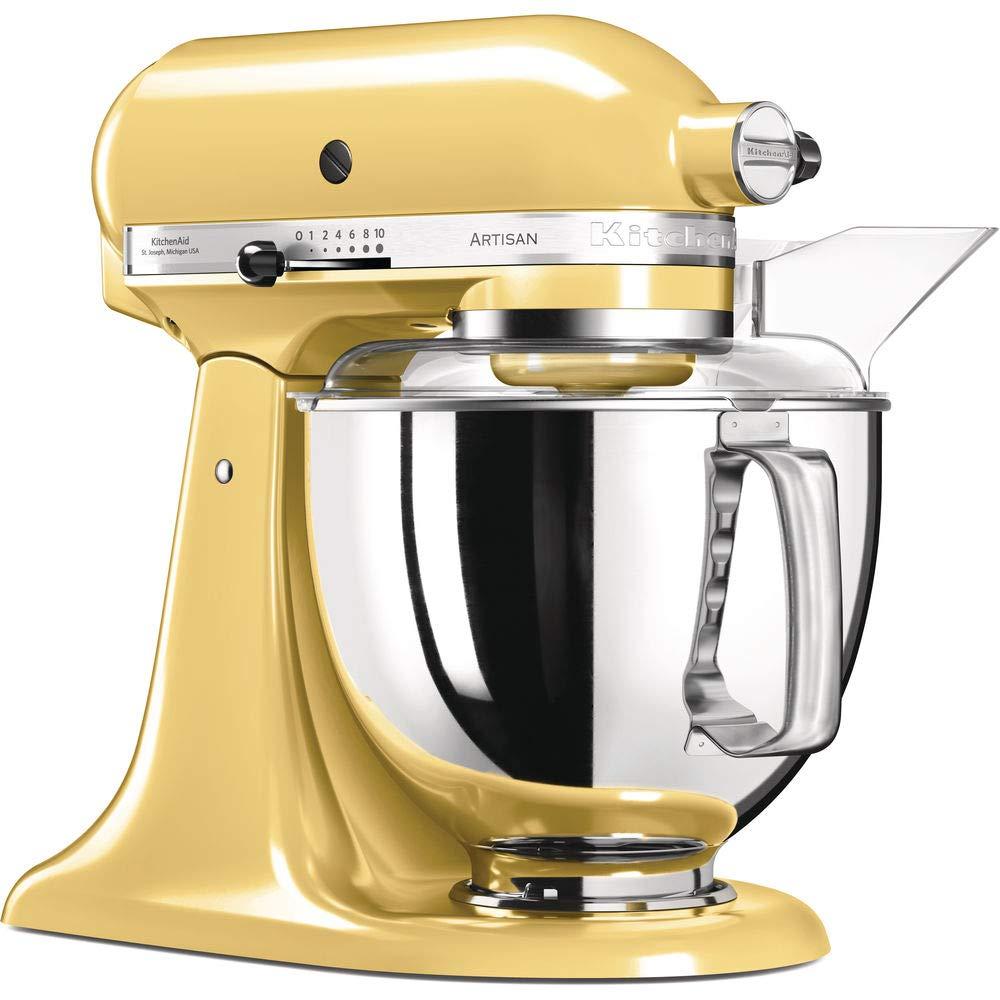 KitchenAid Artisan - Robot de cocina (Amarillo, Acero inoxidable, 50/60 Hz): Amazon.es: Hogar