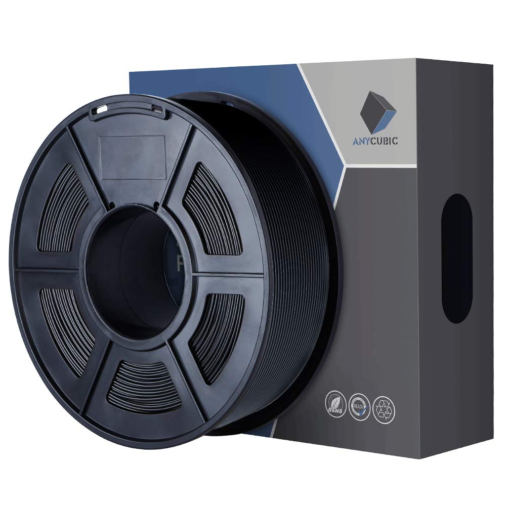 ANYCUBIC 5Pcs 0.4mm Messing 3D Drucker D/üse Druckkopf M6 Gewinde D/üse f/ür 1.75mm ABS PLA Filament i3 Mega Mega-S